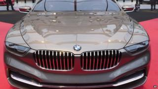 A BMW Gran Lusso Pininfarina luxury coupe (29 January 2014)