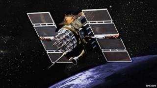Image of GPS Block II satellite