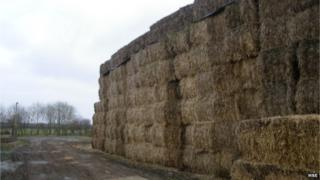 Image of a hay stack