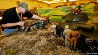 GI Joes on display