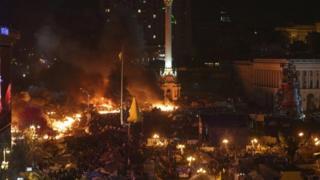Ukraine's Independence Square
