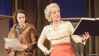 Kate O'Flynn and Lesley Sharp in A Taste of Honey