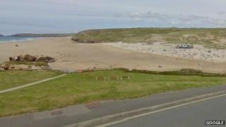 Perranporth beach. Pic: Google