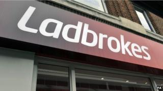 Ladbrokes shopfront
