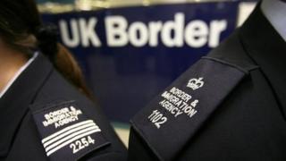 UK Border officials