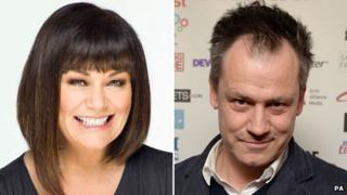 Dawn French and Michael Grandage