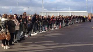 Crowds at Keepmoat Stadium