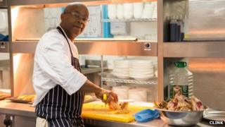 Sous chef and trainer at Brixton, Jason Toussaint