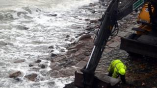 Repairing sea defences