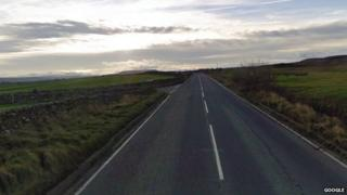Junction of Moor Road and unclassified road near Bellerby