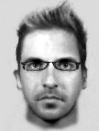 E-fit of Haymeads Lane rape suspect