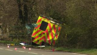 New Forest ambulance crash