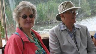 Pauline Wright and David Wright