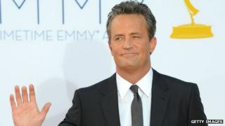 Matthew Perry in 2012