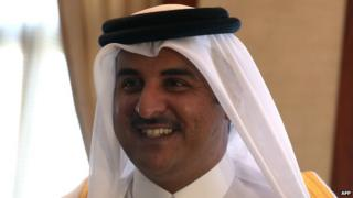 Emir of Qatar 11/12/13