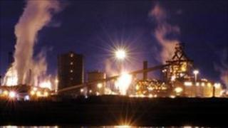 SSI plant in Redcar