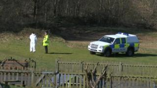 Ufford police search