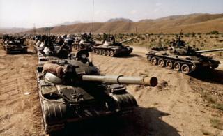 Soviet tanks