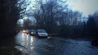 Flooding in Sonning