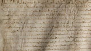 Magna Carta copy