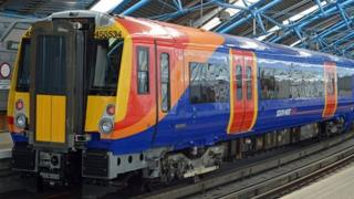 South West Trains train