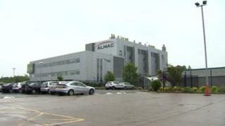 Almac headquarters in Craigavon, County Armagh