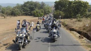 India bikers Harley-Davidson