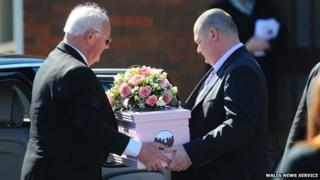 Eliza-Mae Mullane's funeral