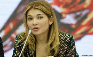 Gulnara Karimova (file pic Oct 2013)
