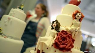 A same-sex wedding cake
