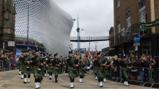 Birmingham Irish Pipe and Drum band