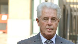Max Clifford arrives at court
