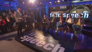 Free Speech on BBC Three