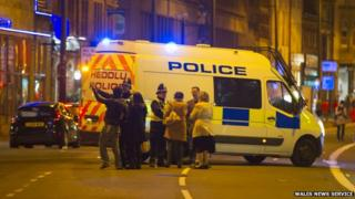 Police on Westgate Street following death of woman