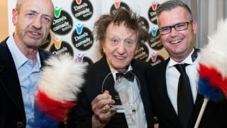 Arthur Smith, Ken Dodd and Geoff Rowe