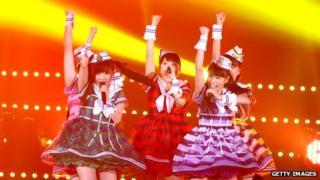 Japanese pop act Momoiro Clover Z