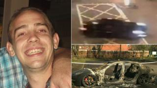 Craig Rodger and pictures of the car used in the hit and run
