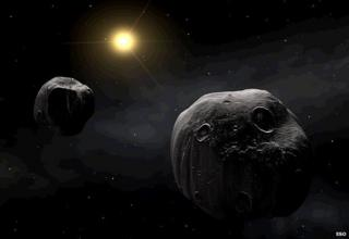Binary asteroid