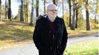 This picture taken on 21 October 2013 shows the Sture Bergwall, long considered Scandinavia's most notorious serial killer