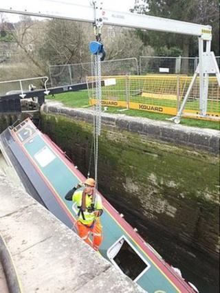 Abbey View Lock near Widcombe