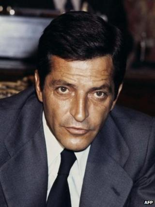 Adolfo Suarez in 1977