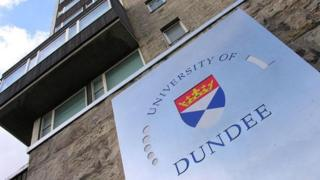 Dundee University's Tower Building