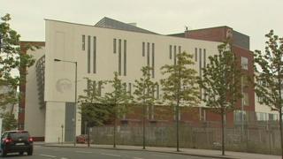 The new Belfast Metropolitan College building in Titanic Quarter