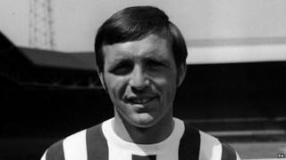 Jeff Astle, the former West Bromwich Albion striker