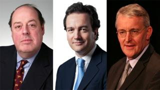 Nicholas Soames, Nick Hurd, and Hilary Benn