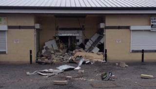 Damage caused by robbery