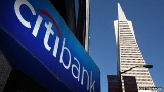 Citibank sign