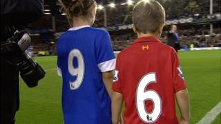 Everton's tribute to Hillsborough families