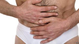Abdominal pain of bowel disease