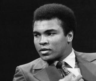 Muhammad Ali on the BBC's Michael Parkinson show in October 1971